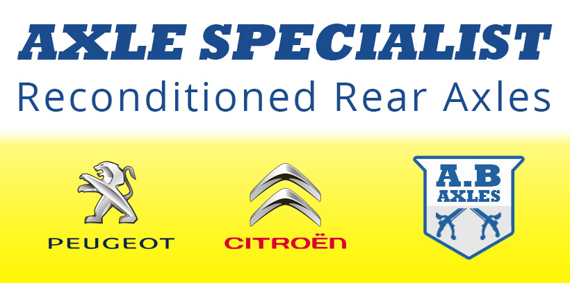 AB Auto Repair Chard | Reconditioned Rear Axle Specialist for Peugeot and Citroen